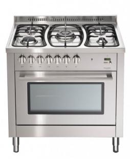 Multifunction electronic freestanding oven 90 cm