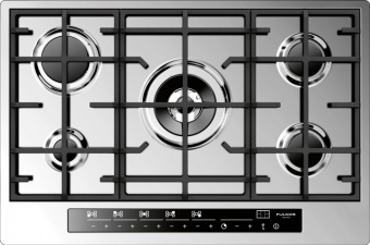 76-cm touch control gas cooktop