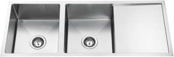 Square Bowl Sink With Drainer