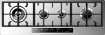 112-cm touch control gas cooktop